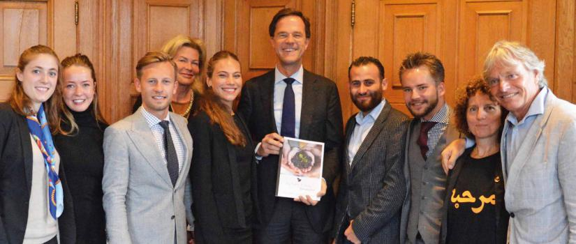 The winning concept was presented to the Dutch Prime Minister Mark Rutte